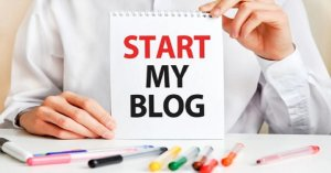 how to start a blog for free uk